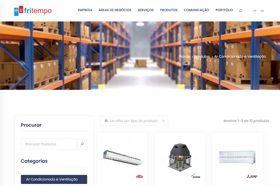 Website FRITEMPO