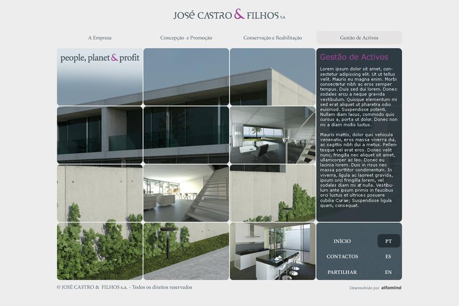 Website José Castro & Filhos