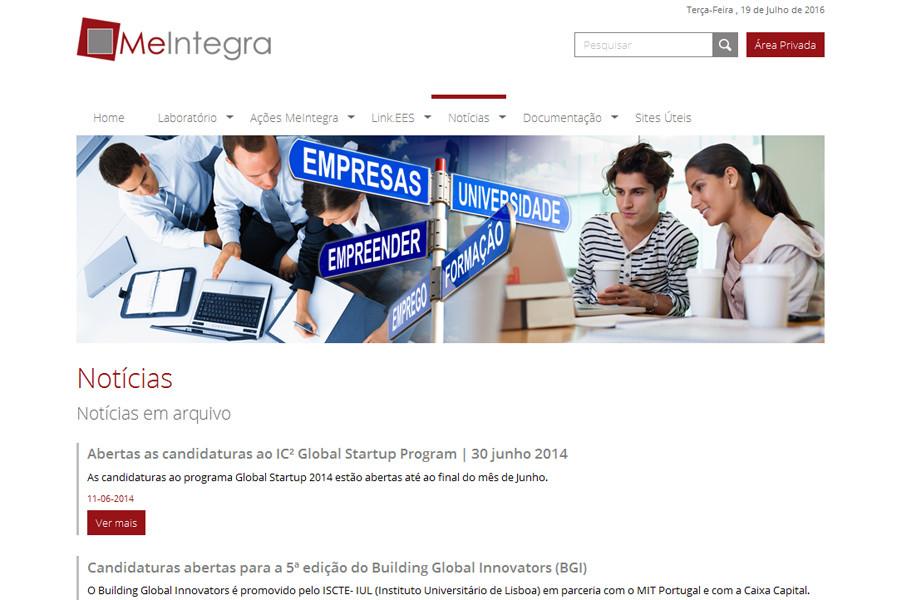 MeIntegra – Mercados e Estratégias de Inserção de Jovens Licenciados