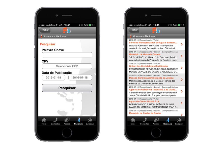 App iPhone – Portal Acesso Concursos