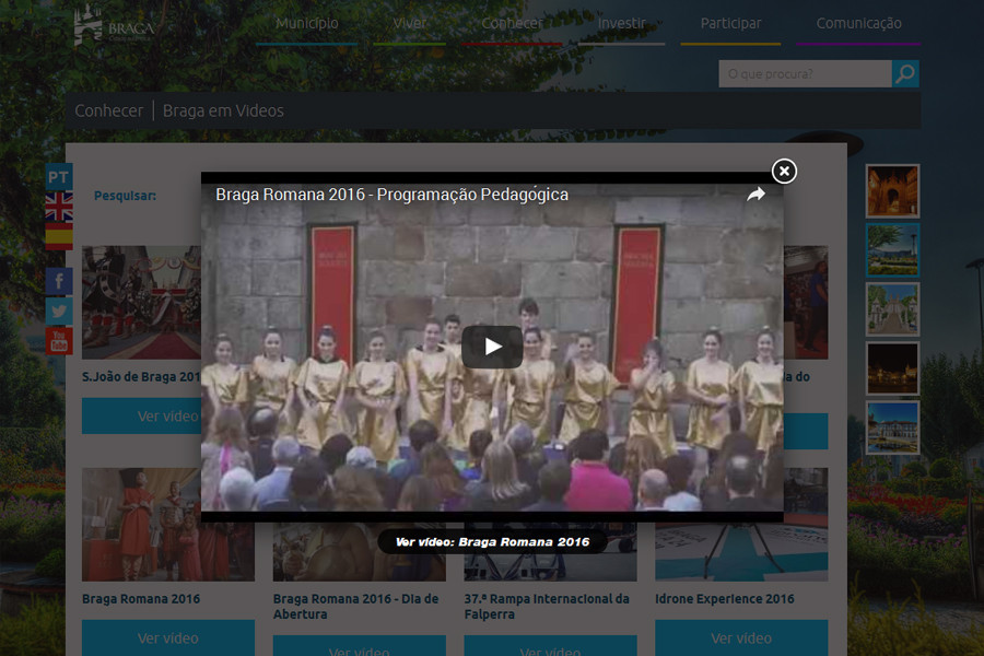 Portal Institucional da Câmara Municipal de Braga