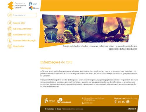 Orçamento Participativo Escolar de Braga