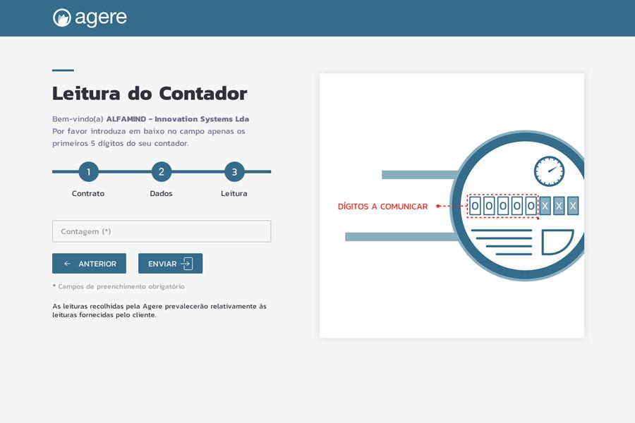 Plataforma de Leitura do Contador