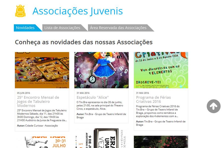 Portal da Juventude da Câmara Municipal de Braga