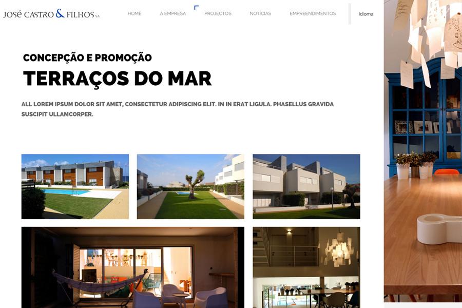 Website José Castro & Filhos S.A.