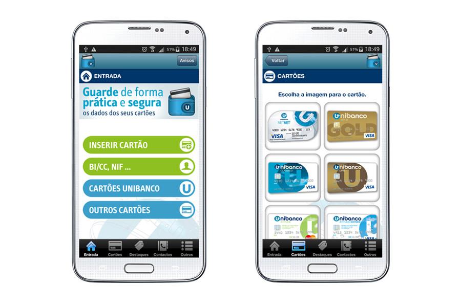 App Android – Unibanco Wallet