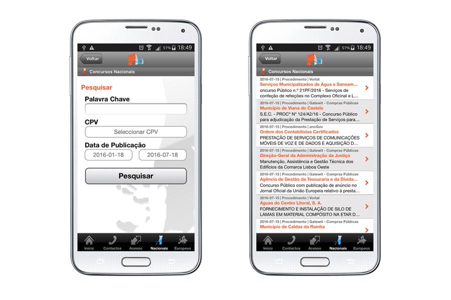 App Android – Portal Acesso Concursos