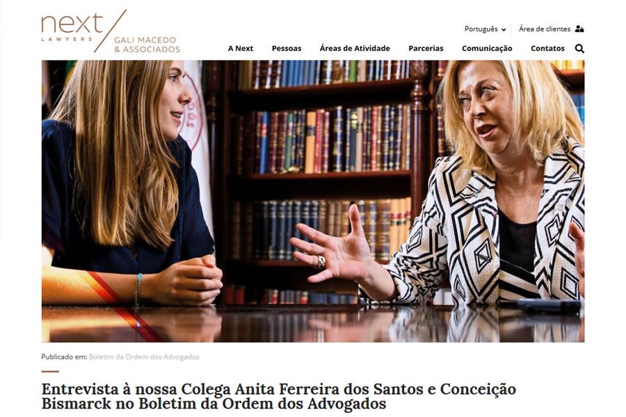 Website Next Lawyers – Gali Macedo & Associados