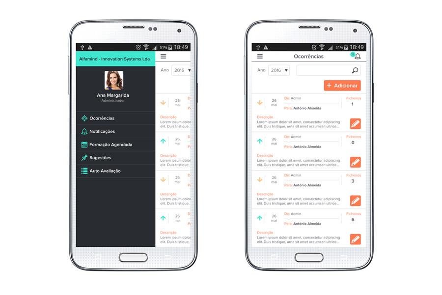 App Android – UpScore