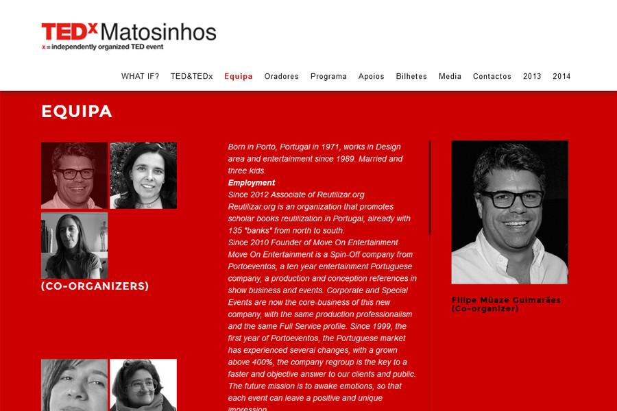 TEDx Matosinhos – Edição de 2015