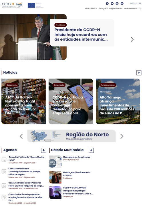 New CCDR-N institutional portal