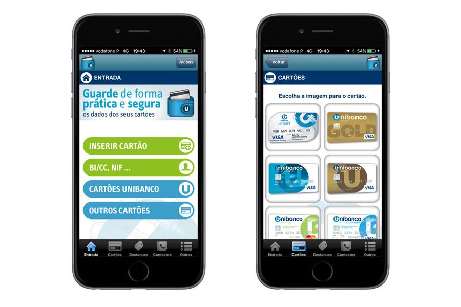 App iPhone – Unibanco Wallet